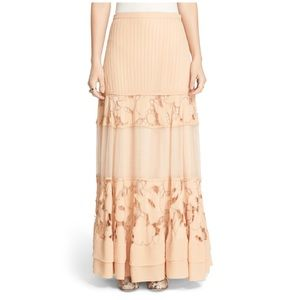 🆕 Free People To Put It Wildly Lace Inset Maxi